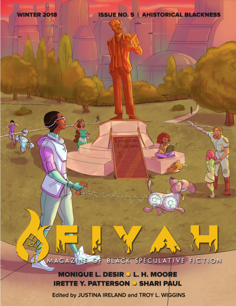 Cover for Ahistorical Blackness Issue of Fiyah