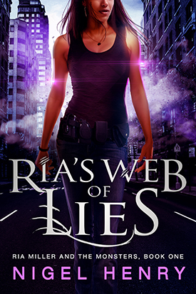 Ria's Web of Lies by Nigel Henry