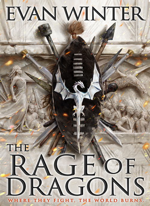 Rage of Dragons cover