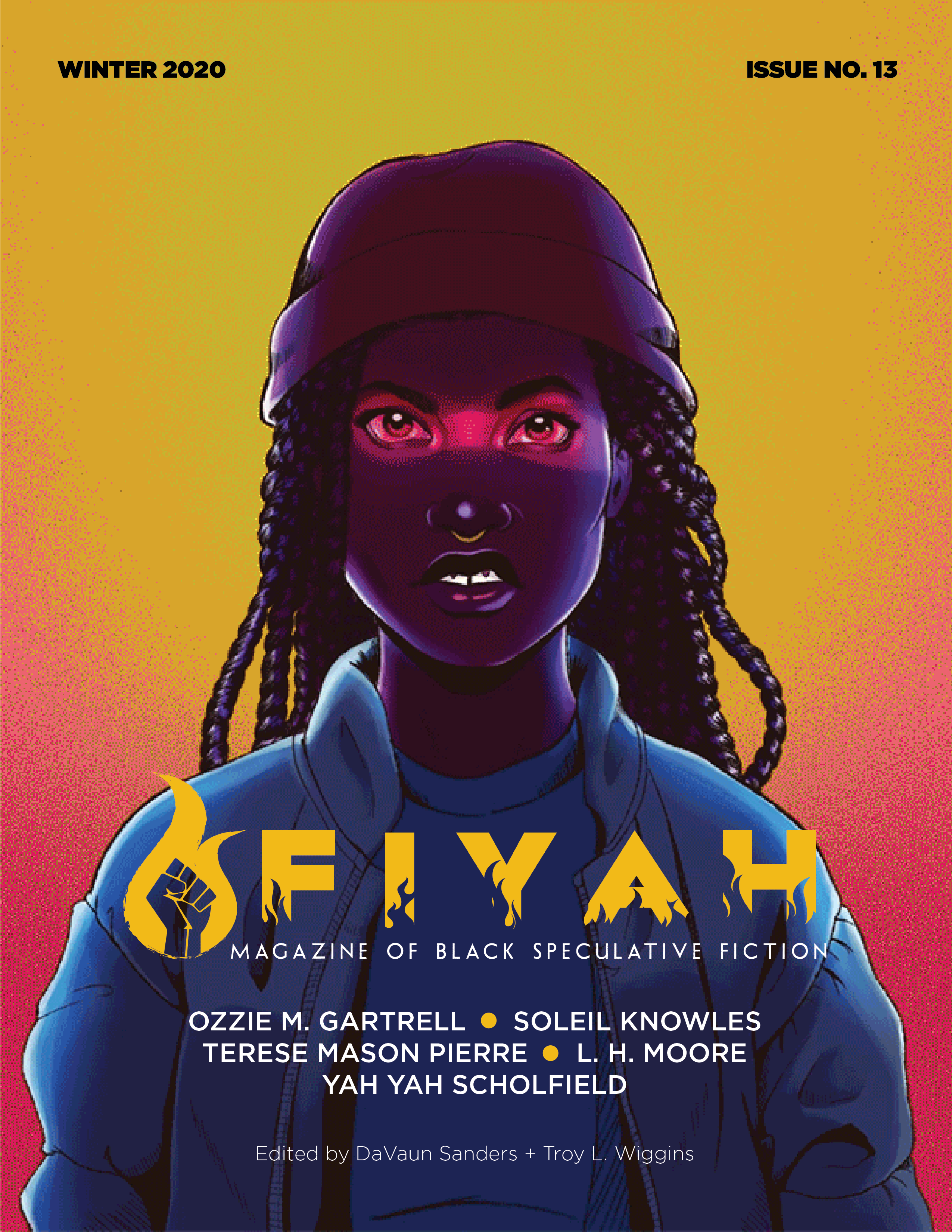 FIYAH #13 cover