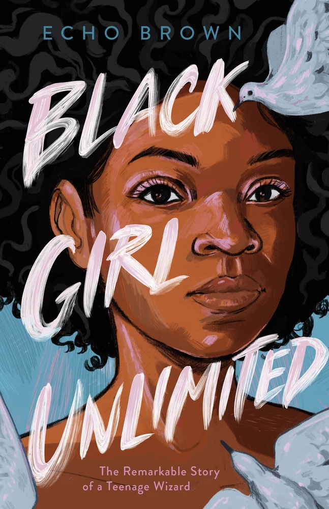 "Cover of Echo Brown's ""Black Girl Unlimited"""