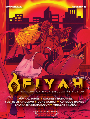cover art for FIYAH Lit Mag issue 15