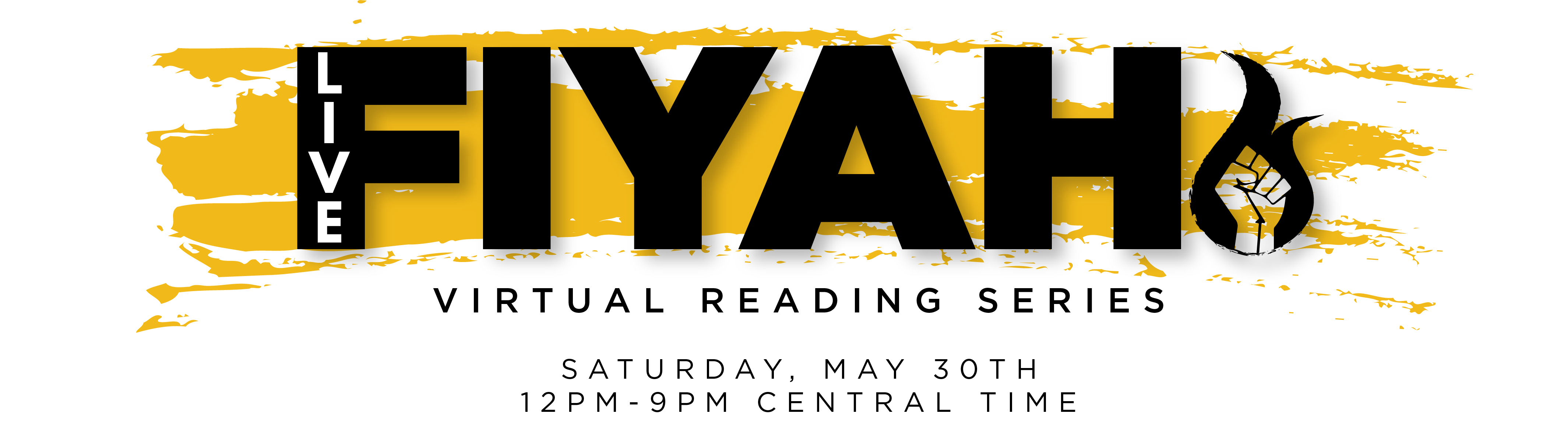 Live!FIYAH Reading Series header